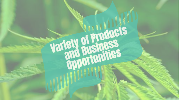 Variety of Products and Business Opportunities